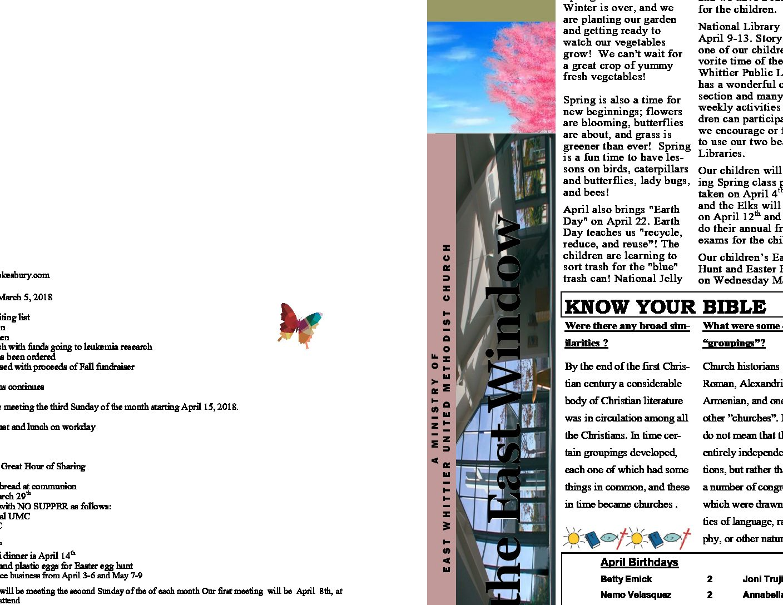 thumbnail of april 2018 East Window
